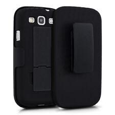 Kwmobile funda protectora clip para cinturón para Samsung Galaxy s3 s3 negro neo, funda, estuche,