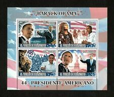 Sao Tome & Principe 2008 - 44th US President Barack Obama - Sheet of 4 - MNH