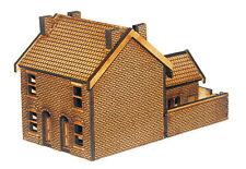 N-HS001 Victorian Double Terraced Houses N Gauge Laser Cut Kit