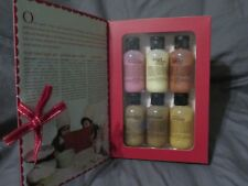 RARE Philosophy Classic Cookbook Gift Set of 6 Shampoo, Shower Gel & Bubble Bath