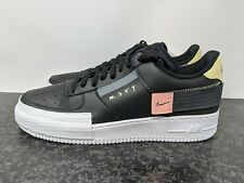 Nike Air Force 1 Low Drop Type Black Zinna Pink White (CI0054-001) Men sz 15 NEW