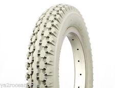 """Lot de 2 pneu vélo enfant 12""""  12 1/2 x 2 1/4 blanc"""