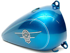 New Harley 94 Fat Boy Right Fuel Tank FLSTF OEM Aqua Pearl Paint 61262 94MH