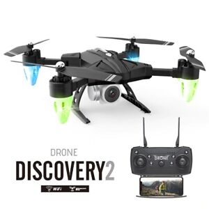 FPV Drone Quadcopter with Camera Professional 4K  Height Hold GPS Kids Adult Toy
