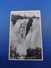 KAKABEKA FALLS POSTCARD HEIGHT 128 FEET PORT ARTHUR ONTARIO CANADA