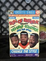 Son Of Bazerk Change The Style Cassette Tape Single Flava Flav 1990 MCA Records