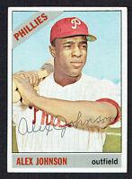 Alex Johnson #104 signed autograph auto 1966 Topps Baseball Trading Card