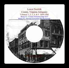 Lower Norfolk County VA Antiquary - Vol. 4 & 5