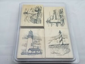 Stampin Up Retired Coast to Coast Lighthouse Retired