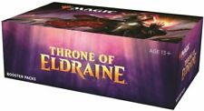 Magic MTG THRONE OF ELDRAINE | 1 | Preventa Booster Box se envía el 4 de octubre de sellado de fábrica