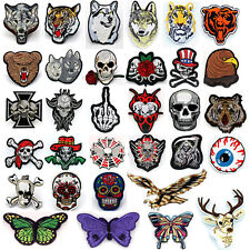 New Embroidered Applique Iron On Patch design DIY Sew Iron On Patch Badge pick