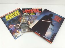 Lot of 2 Star Wars Empire Strikes Back Magazines and Book