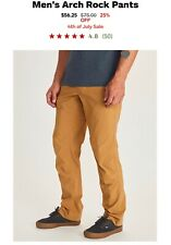 Preowned - Marmot Men's Arch Rock Pants 32 Inch - Washed Once, Worn Twice