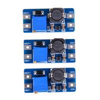 3X dc-dc 5v/9v/12v/28v boost converter adjustable step up power supply module MR