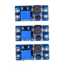 3Pc dc-dc 5v/9v/12v/28v boost converter adjustable step up power supply moduleWA