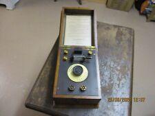 A Burndept  Ethophone  crystal set radio