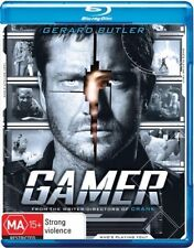 Gamer (Blu-ray, 2010) 2 disc
