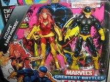 Marvel Universe DARK PHOENIX & CYCLOPS 2- pack Action Figures The Uncanny X-Men