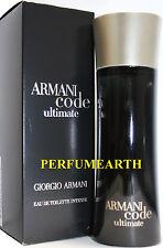 ARMANI CODE ULTIMATE 2.5 / 2.6 OZ EDT SPRAY FOR MEN BY GIORGIO ARMANI NEW IN BOX