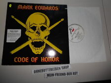LP METAL Mark Edwards-Code of Honor (4) canzone Metal Blade-cut out -