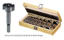 15 Forstnerbohrer Satz Set Holz Bohrer 10-50mm Astlochbohrer Topfbohrer Forstner