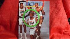 NBA Beckett Magazine Dream Team Jordan Johnson Bird Malone Barkley July 1992