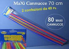 CANNUCCE MAXI SPECIAL PARTY 80 Pz FESTA DISCOBAR FASHION DISCO DJ ANIMAZIONE