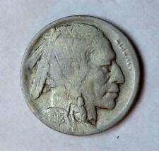 1918/7-D Buffalo Nickel__nice date__hit on reverse