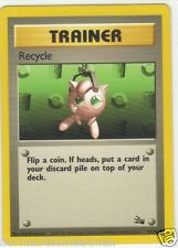 Pokemon Card - Trainer Recycle - # 61/62 Mint - Never Played