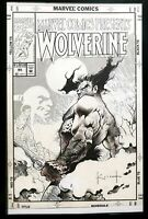 Marvel Comics Presents Wolverine #95 Sam Kieth 11x17 FRAMED Original Art Print P