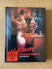 Nightmare on Elm Street 2 Freddy's Revenge Mediabook Blu-Ray NEW & SEALED RARE!!