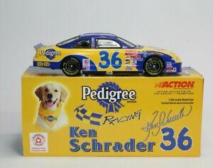 Ken Schrader 2001 #36 M&Ms Pedigree Grand Prix 1:24 Action Limited Ed /3252