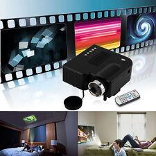 Full HD 1080P Home Theater LED Mini Multimedia Projector Cinema USB TV HDMI UB