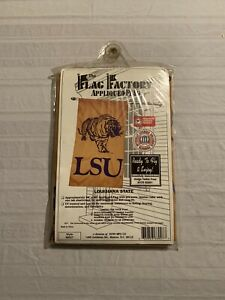"LSU Tigers NCAA Vintage 28"" x 49"" Flag Brand New"