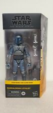 Star Wars Black Series 6 Inch Mandalorian Loyalist - Clone Wars