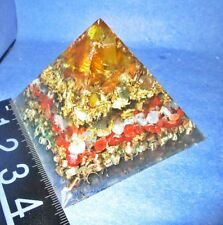 "3 1/2"" high Orgone Pyramid!  Clears you and your surroundings of negativity!"