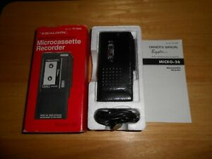 Realistic Microcassette Recorder Micro 26 14-1043 NEW in the Box Japan