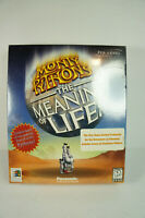 New Sealed Monty Python's The Meaning of Life (PC, 1997) Big Box Complete