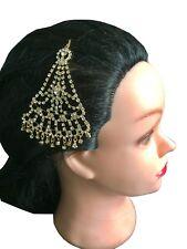 Indian Jewellery , Children Jhoomar , Hair Piece Crystal ,