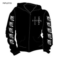 Official THE EXPLOITED Hoody Hoodie MOHICAN Skull Punk All Sizes