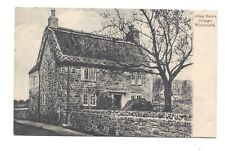 Vintage postcard Adam Bede's Cottage, Wirksworth Derbyshire. pmk Nottingham 1906