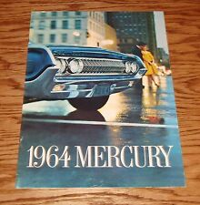 Original 1964 Mercury Full Size Sales Brochure 64 Park Lane Montclair Monterey