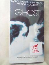 NIP Ghost (VHS, 1990) Patrick Swayze, Demi Moore, Whoopi Goldberg, fast shipper
