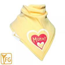 Funky Giraffe Yellow I Love Mummy Fishes Bib **Buy 4 get 1 FREE** 5 for £11.96