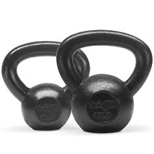 Yes4All Kettlebell Combo Set 10 + 15 lbs - Cast Iron Kettlebell Weights²8