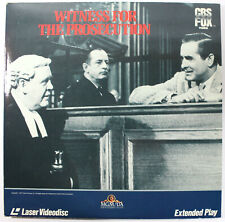 Witness for the Prosecution, Marlene Dietrich 1957 Classic Drama - Laserdisc