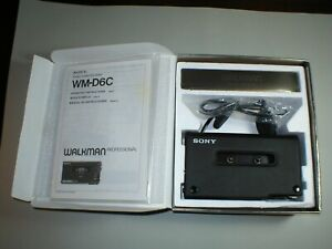 Sony WM-D6C  -  Walkman Professional Cassette Player/Recorder