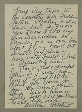 Rosalind Russell Handwritten Signed Letter MY GIRL FRIDAY PSA/DNA LOA