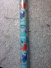 Disney Finding Dory  GIFT WRAP WRAPPING PAPER ROLL CHRISTMAS 70 SQ. FT