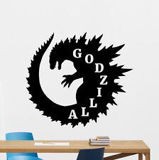 Godzilla Wall Decal Monster Movies Nursery Vinyl Sticker Art Decor Mural 89zzz